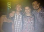 Friends at a Club in Medellin, Colombia