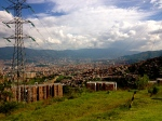View from the Last Metro Cable Stop in Medellin, Colombia