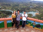 Top of el Peñol with Friends