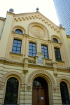 Nozyk Synagogue, the only synagogue in Warsaw that survived World War II